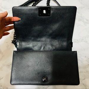 CHANEL Bags - CHANEL RARE So Black Boy Bag